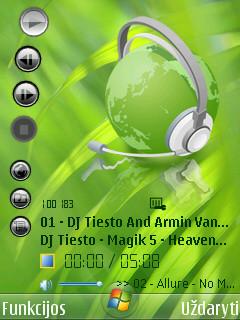 Vista aero v2 by Alfa - Symbian 9