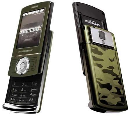 Hummer HT1: мобильный телефон в стиле внедорожника