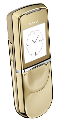 Nokia 8800 Sirocco Gold: для тех, кто хочет большего